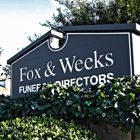 Obituaries | Fox & Weeks Funeral Directors