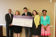 Fox & Weeks presents York Children's Foundation grant to Union Mission