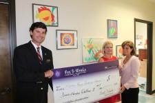 Fox & Weeks presents York Children's Foundation grants to local organizations