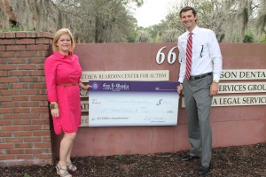 Fox & Weeks presents York Children's Foundation grant to Matthew Reardon Center
